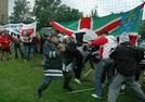 Même les supporters ont leur préparation d'avant-match.