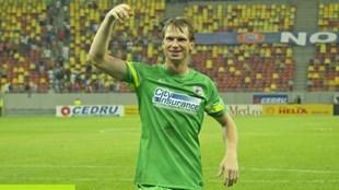Arlauskis a parfaitement remplacé Tatarusanu dans les coeurs et les buts du Steaua