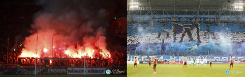 Dnipro fans