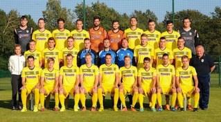 L'équipe première du club avec de nombreux joueurs nés entre 1993 et 1996