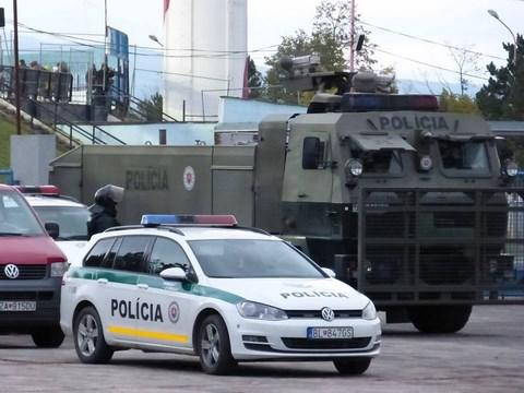La mobilisation policière était pourtant forte