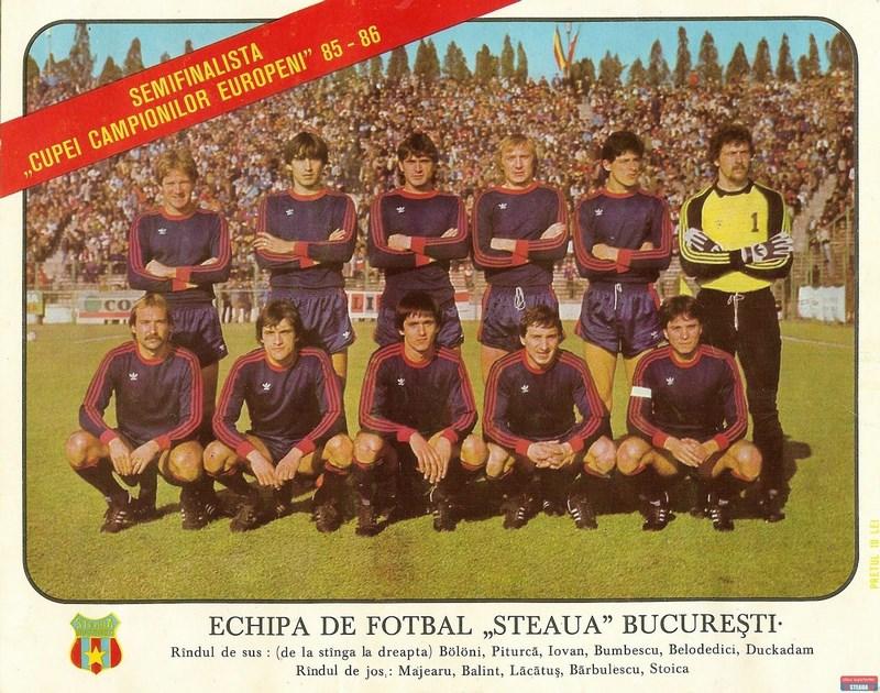 steaua bucarest 1985-86