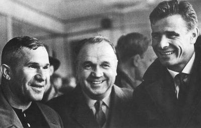 Alexei Khomich - Valentin Granatkin - Lev Yashin. Trois gardiens, trois légendes.
