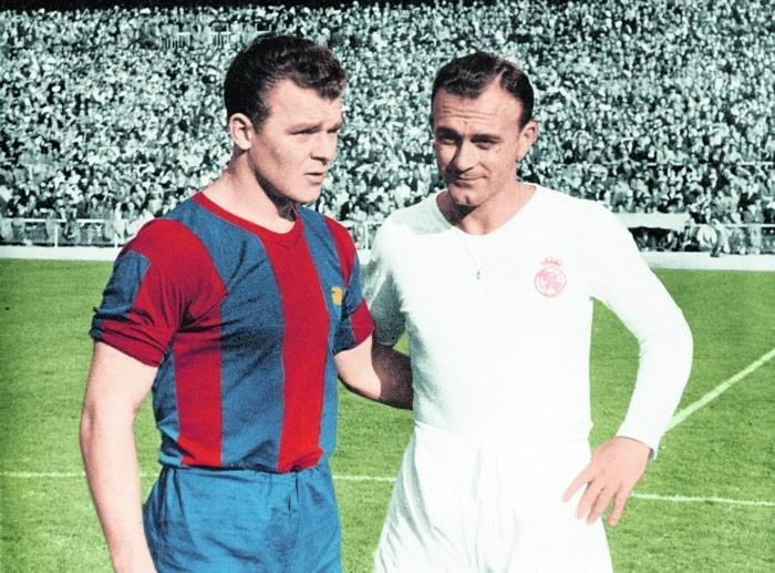 Kubala avec Di Stefano