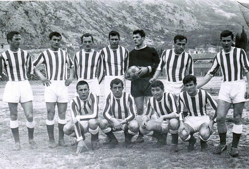Image d'archives du club de Lovcen au Monténégro