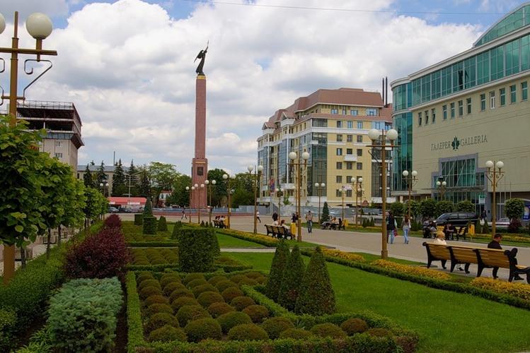 La ville de Stavropol
