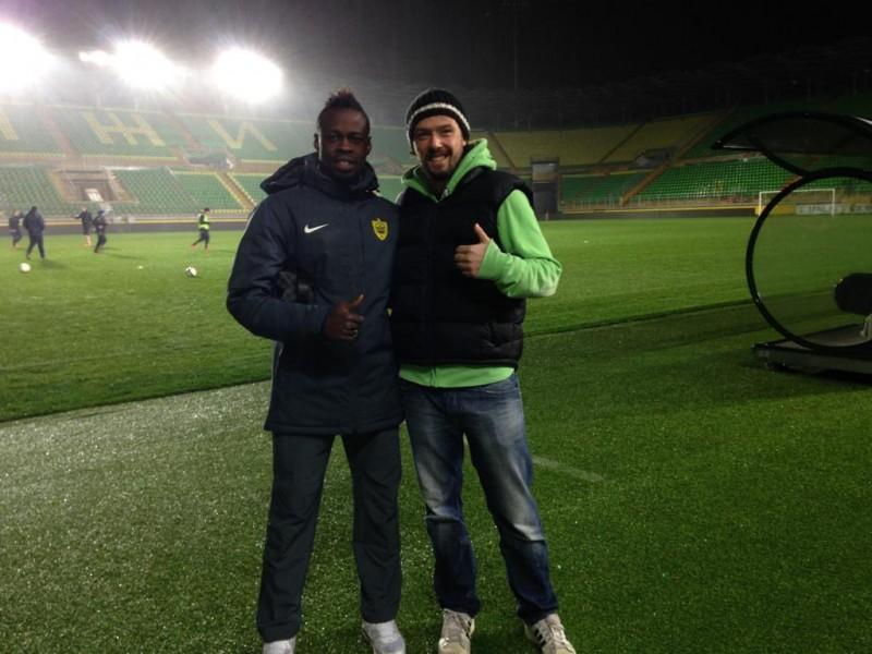 Ken et Yannick Boli à l' Anzhi