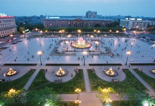 Centre-ville de Khabarovsk