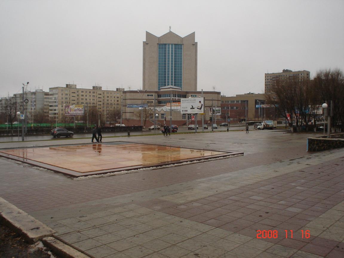 Orenburg, frontière entre Europe et Asie