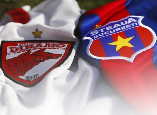 Dinamo Steaua derby de Roumanie