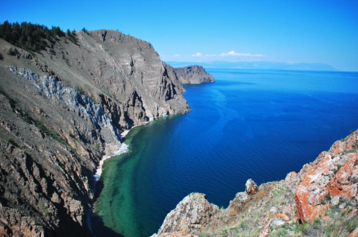Le lac Baykal près d'Irkutsk