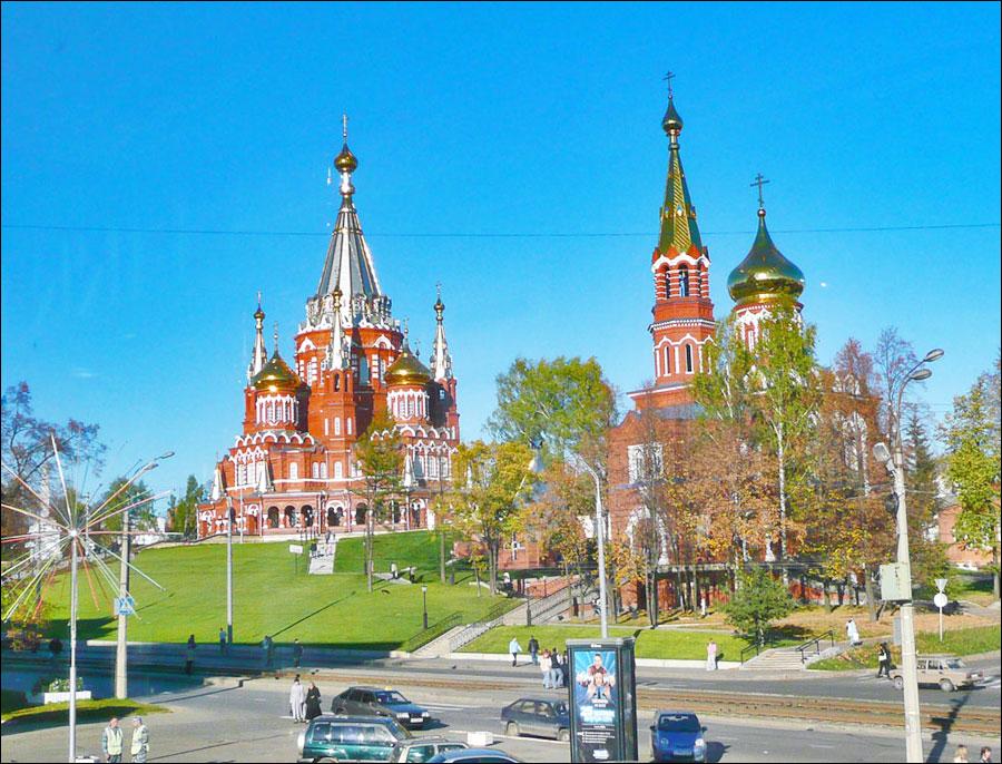 Izhevsk, capitale de la république d'Oudmourtie