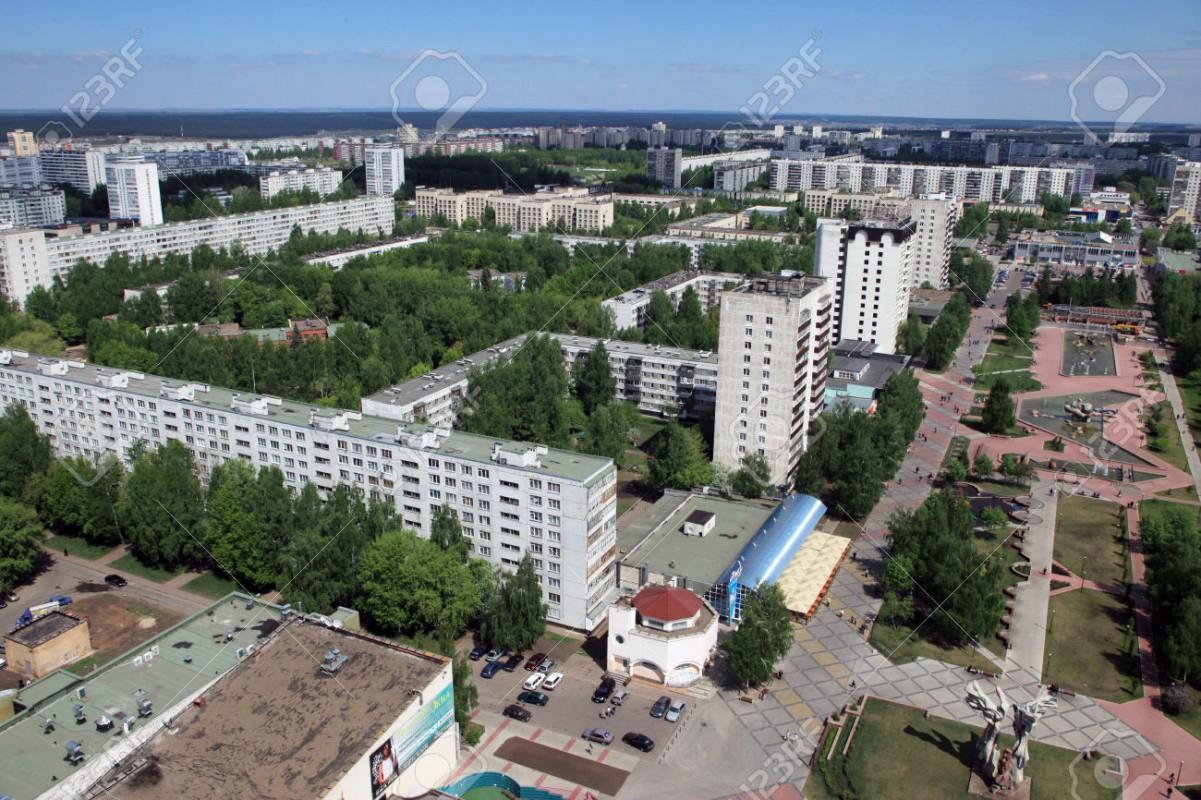 Naberezhnye Chelny, ville nouvelle fondée autour de l'usine KAMAZ