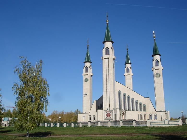 La nouvelle mosquée de Nizhnekamsk