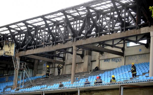 Toit stade Rad Belgrade