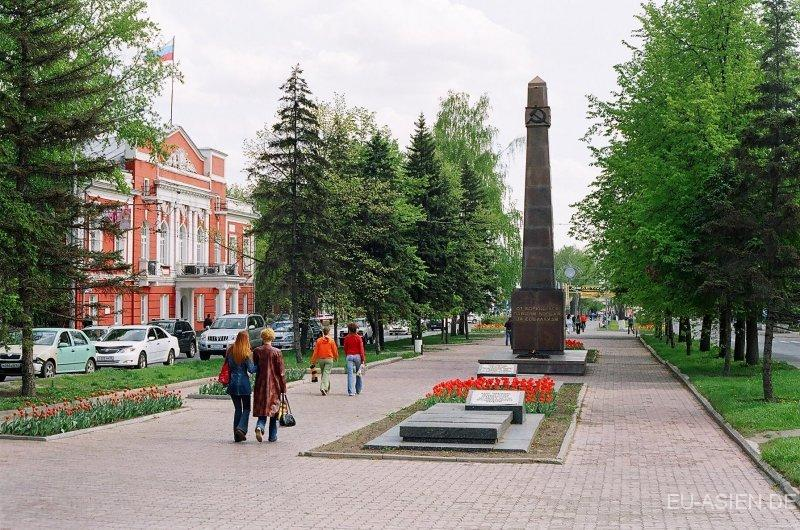 Monument aux morts de la grande guerre patriotique, à Barnaul