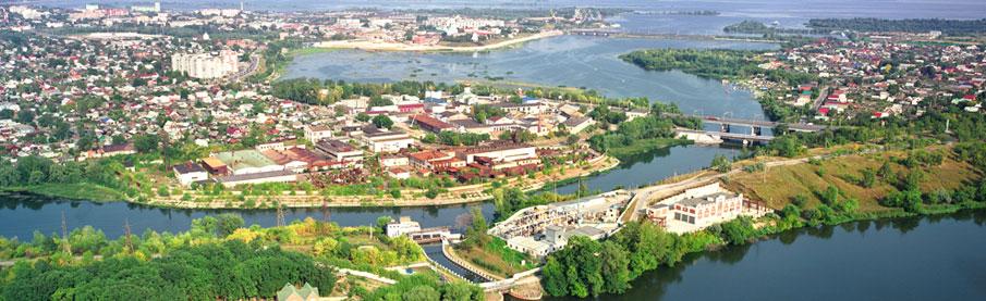 Syzran sur les bords de la Volga