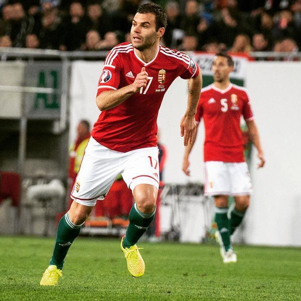 Nemanja Nikolić avec le maillot de la sélection hongroise