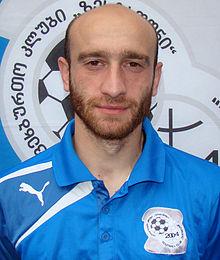 Jaba Dvali, buteur emblématique du club
