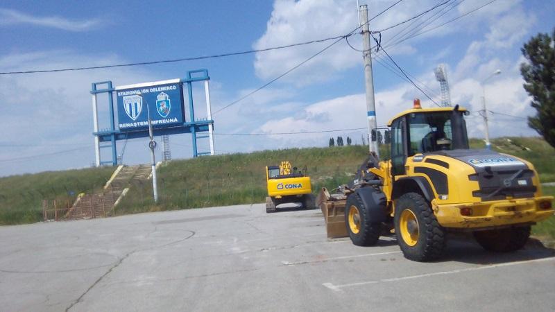 démolition stade Ion Oblemenco Craiova