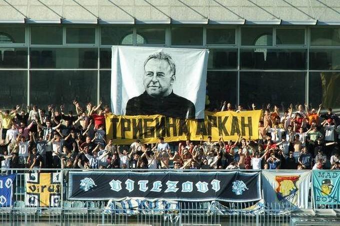 Les supporters de l'Obilic honorent encore leur ancien président