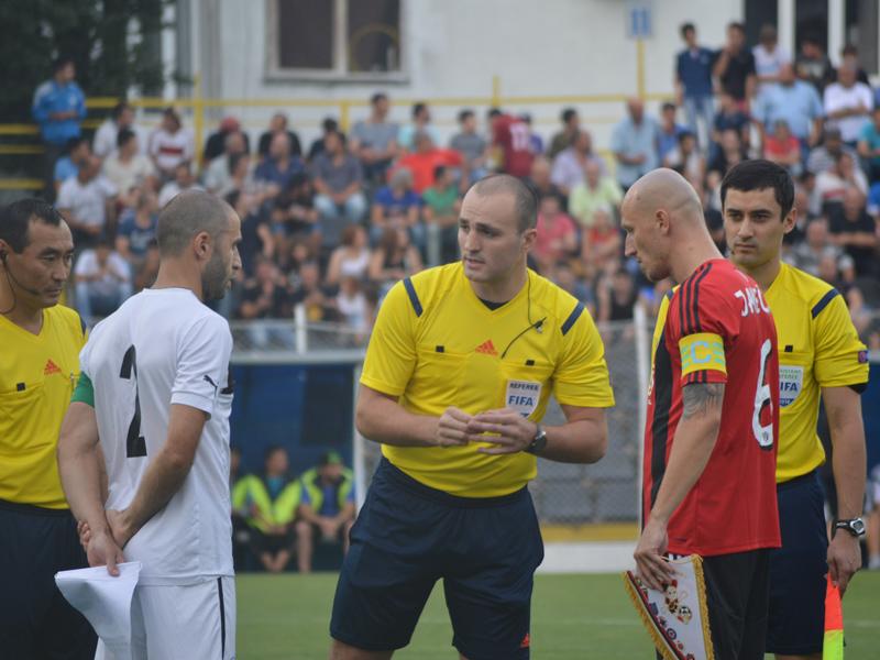 Le FC Zestafoni a disputé sans le savoir son dernier match en coupe d'Europe