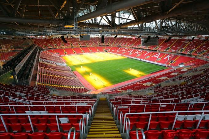 L'Otkritie Arena, nouvelle enceinte du Spartak Moscou