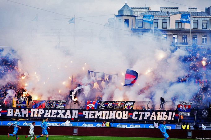 CSKA a Zenit 2