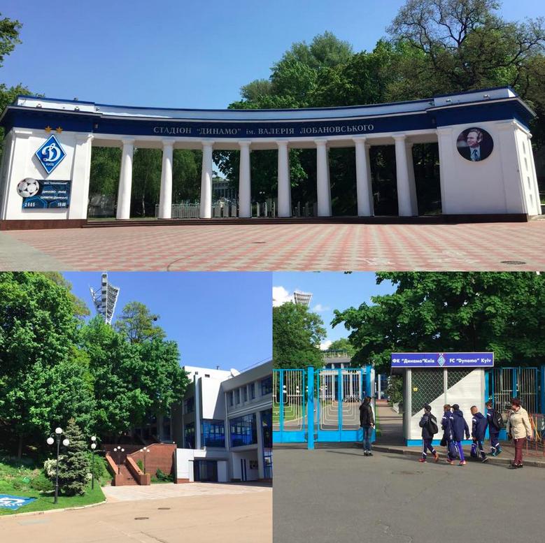 Le mythique complexe du Stadium Lobanovski, qui abrite les heures de gloire du Dynamo.