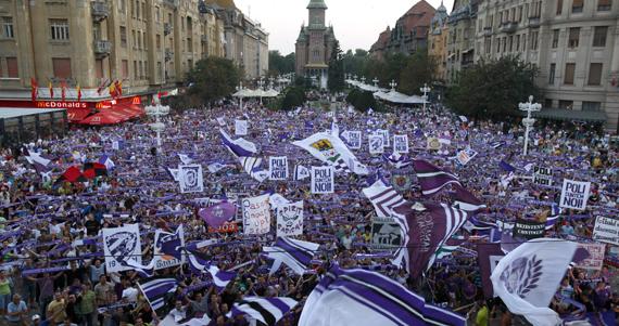 Poli Timisoara manifestations
