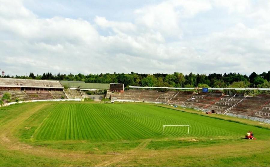 Stade Za Lužánkami Brno après travaux