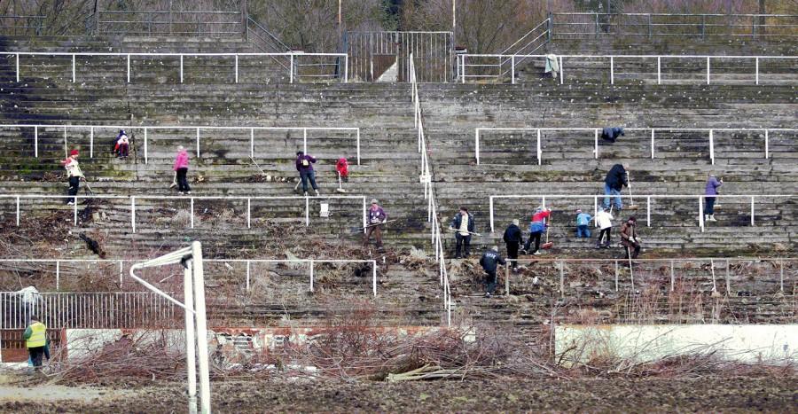 Travaux Stade Za Lužánkami