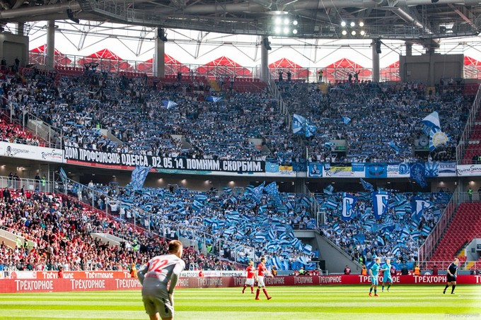Zenit a moscou (Spartak)