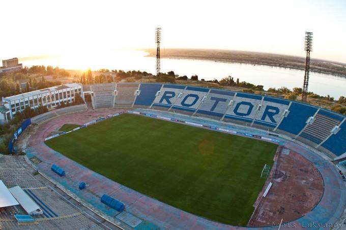 L'ancien stade de Volvograd