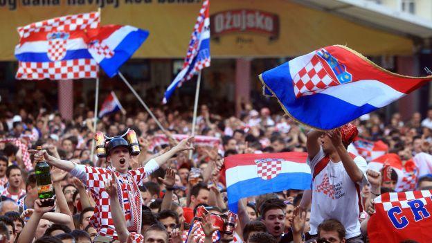 croatie, fans