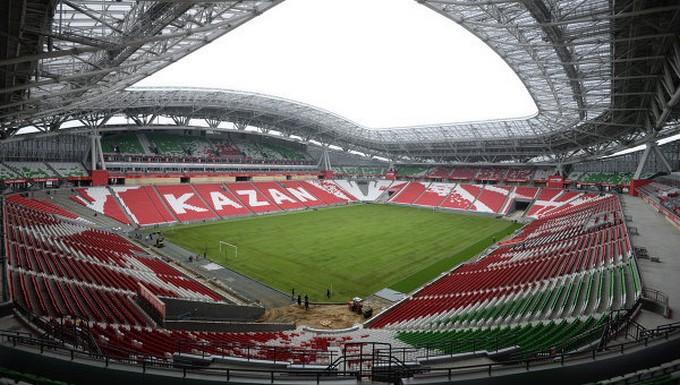 La Kazan Arena, nouvelle enceinte du Rubin