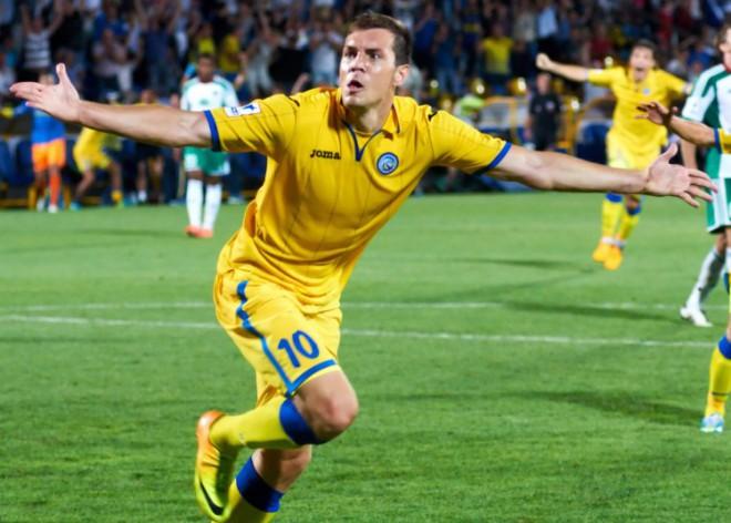 Dzyuba sous le maillot de Rostov