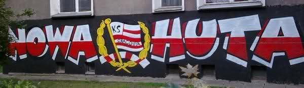 """""""Nowa Huta est une ville dans la ville. LE cartier chaud de cracovie du a son taux de chômage élevé et presque la seule ou les deux clubs se partagent le territoire"""""""