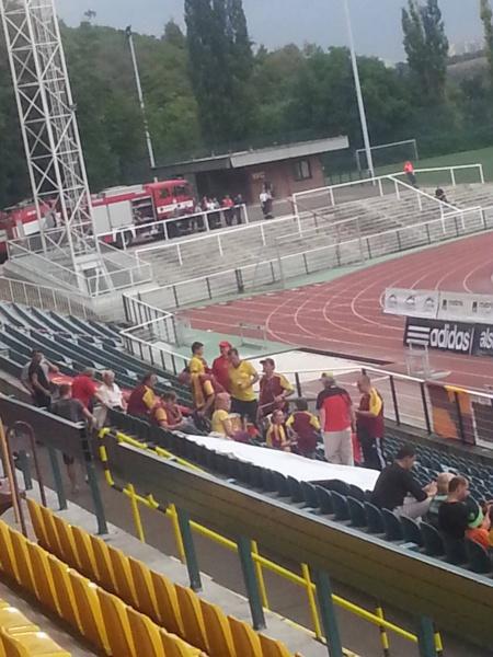 Les fameux Ultras du Dukla.