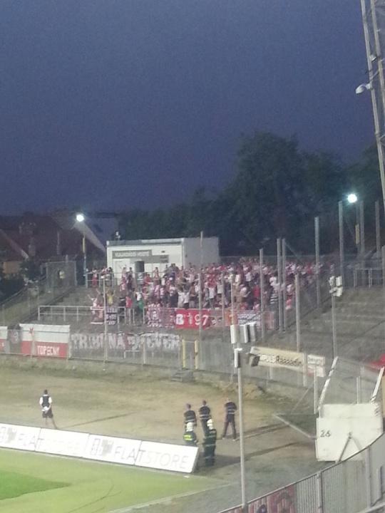 Les ultras du Slavia