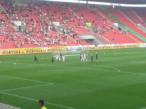 Les U5 du Slavia en action