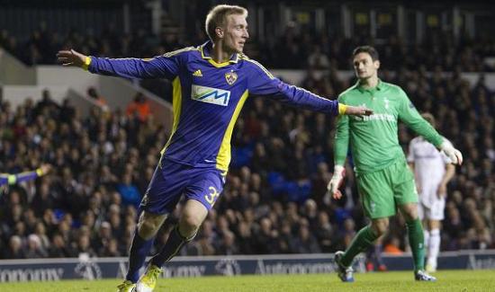Berić s'était fait remarquer en 2012 après avoir trompé Hugo Lloris à White hart Lane. Tottenham s'était cependant imposé 3-1.