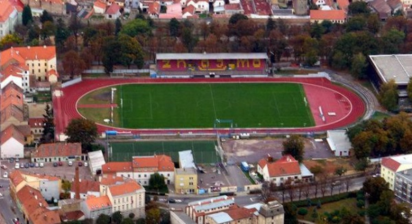 Le stade de Znojmo rénové
