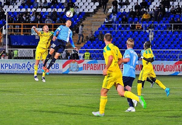 Le Krylya Sovetov était une tête au dessus du Kuban ce week-end.