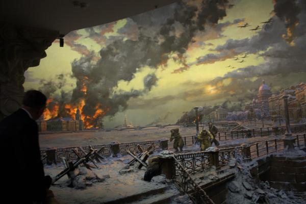 Léningrad sous le siège de la Wehrmacht