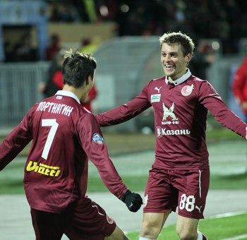Igor Portnyagin et Ruslan Kamoblov, deux grands espoirs du Rubin.