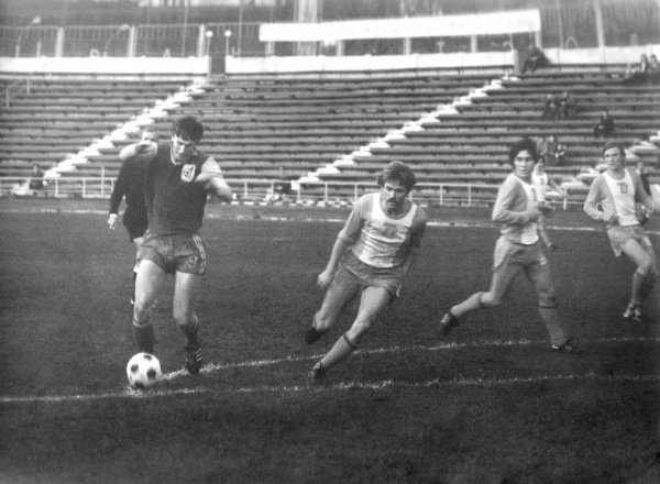 Le Rubin face au Torpedo en 1982.