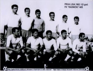 Le Radnički de Dragan Holcer en 1962.