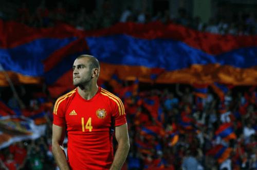 Movsisyan porte bien le maillot arménien.