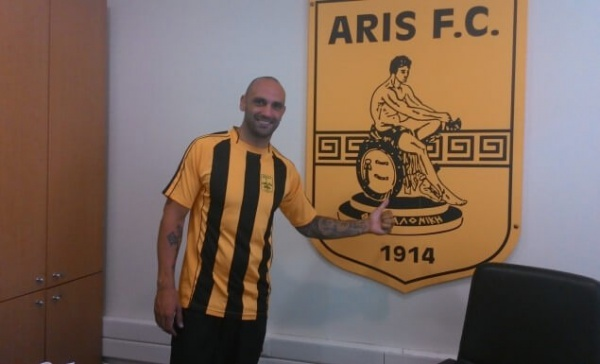 Raul Bravo, nouveau joueur de l'Aris
